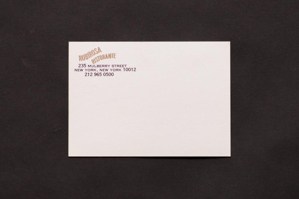 Rubirosa Postcard