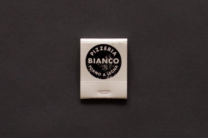 Pizzaria Bianco Matchbook