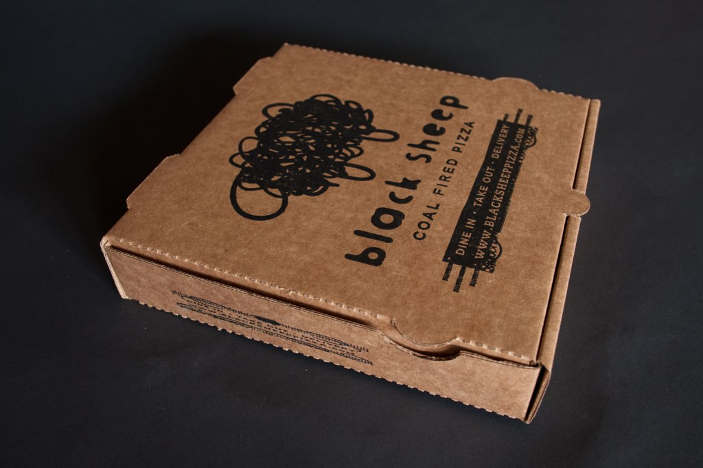 Black Sheep Pizza Box