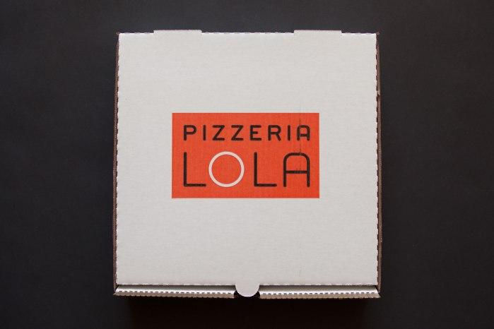 Pizzeria Lola Pizza Box