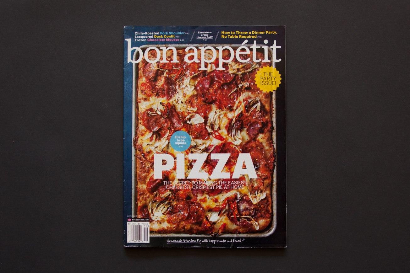 Bon Appétit, October 2014