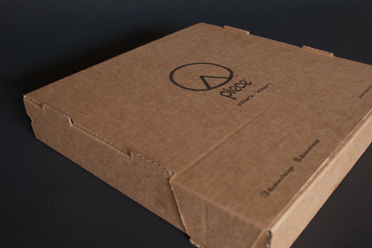 Piece Pizzeria & Brewery Pizza Box