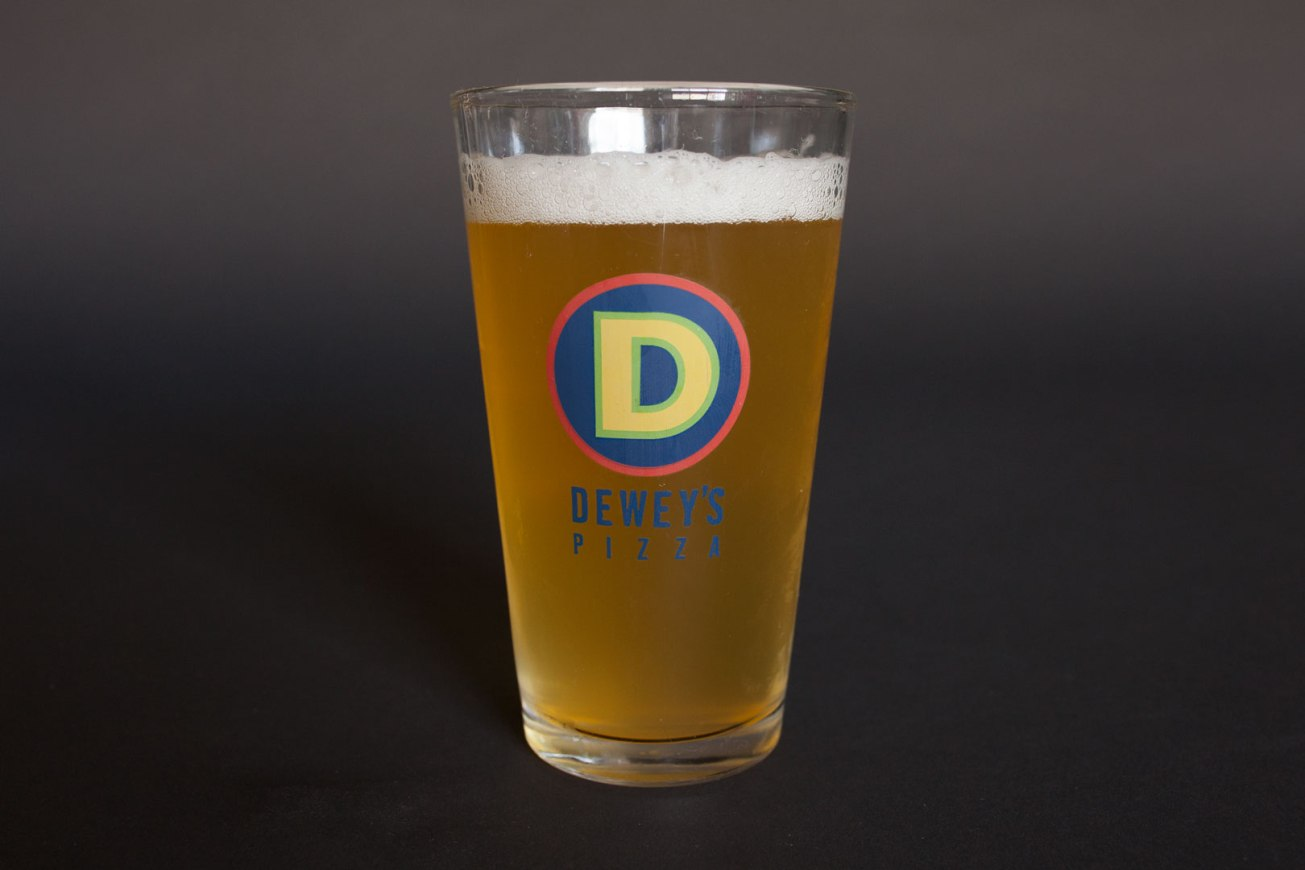 Dewey's Pizza Pint Glass