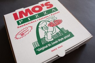 Image result for IMO'S PIZZA box