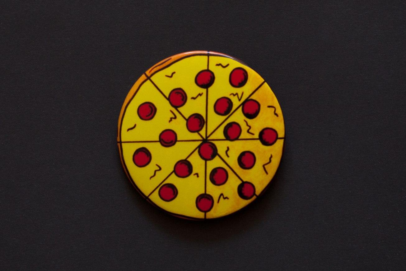 Jaime Knight Pizza Button