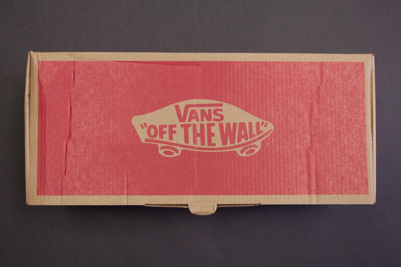 Vans Mars Red/Pizza Late Night Slip-On