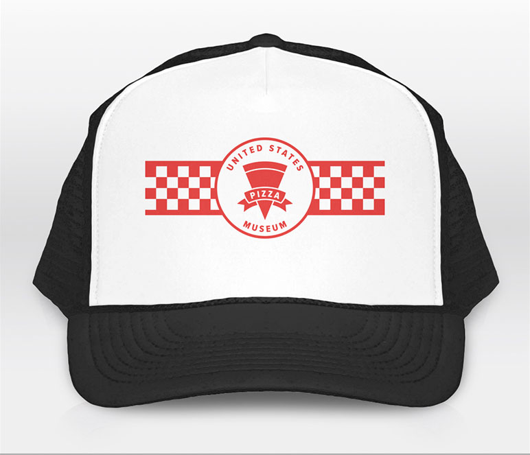 U.S. Pizza Museum Logo Trucker Hat